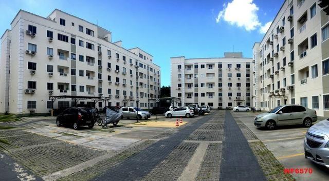 AP1601 Condomínio Vitalice, apartamento em messejana, 2 quartos, área de lazer completa