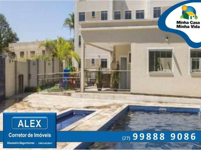 ALX - 45 - Apartamento com Subsídio de até R$ 23.200,00 e F.G.T.S como Entrada ? 2 Quartos - Foto 13