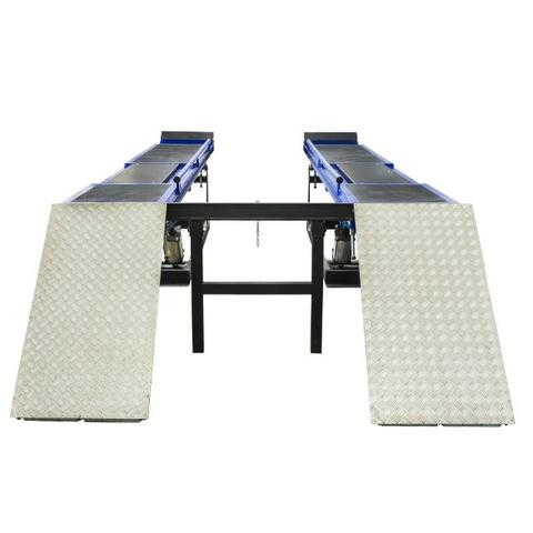 Rampa de alinhamento pneumatica 4 toneladas MR4000R xadrez azul - Foto 2