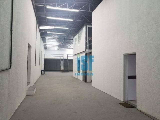 Galpão para alugar, 700 m² por r$ 11.000/mês - vila sílvia - são paulo/sp - ga0451. - Foto 20