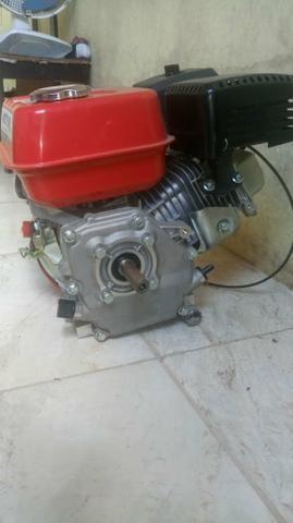 Vendo motor d popa com rapeta em camaçari, potencia 5,5 cv - Foto 6
