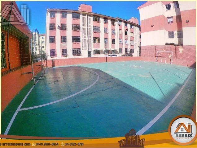 Apartamento com 2 quartos, 58m² na maraponga - Foto 2