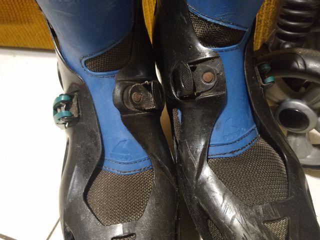 Patins Rollerblade e bolsa (leia) - Foto 2