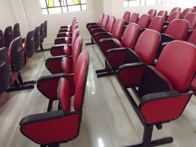 Cadeiras e Poltronas para Igrejas, Auditórios e Salas de Aula - Foto 5