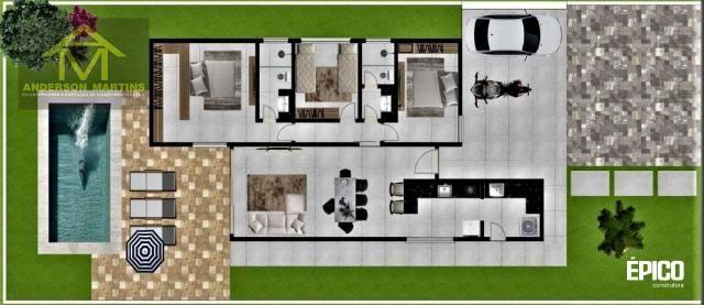 Casa à venda com 3 dormitórios em Pontal do ipiranga, Linhares cod:16373 - Foto 2