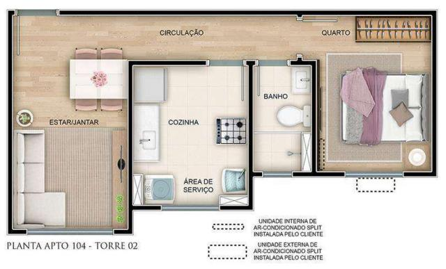Villa Garden - Nature Garden - Apartamento 2 quartos em Campinas, SP - ID3973 - Foto 9