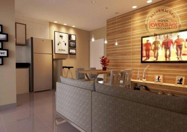 Apartamento com 1 dormitório à venda, 46 m² por R$ 232.000 - Vila Caiçara - Praia Grande - Foto 18