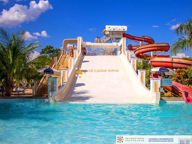 Venha para Caldas Novas Hotel com Parque Aquatico Flats Completo Hospedagem Temporada