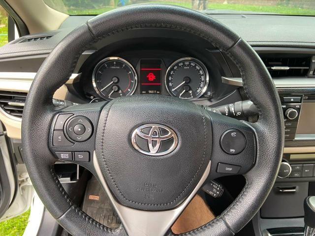 Corolla Altis 2.0 2016 - Revisado Sempre na Toyota - Aceito troca - Foto 9