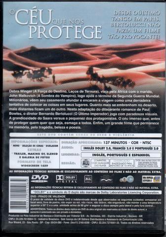 Dvd - O Céu Que Nos Protege - Foto 2