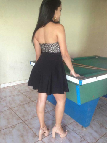 Vestido godê