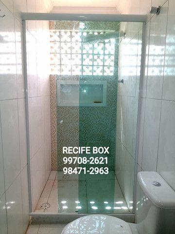 Box para banheiro em vidro temperado - Recife Box - * - Foto 6