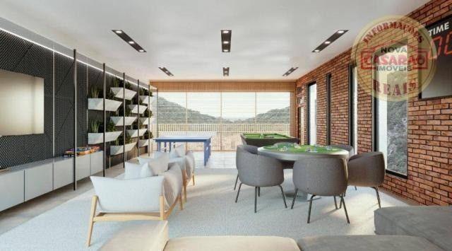 Apartamento com 1 dormitório à venda, 45 m² por R$ 207.000,00 - Canto do Forte - Praia Gra - Foto 16