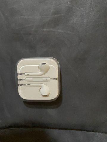 Fone de ouvido para IPhone ORIGINAL/NOVO lacrado na caixa/lacrado - Foto 4