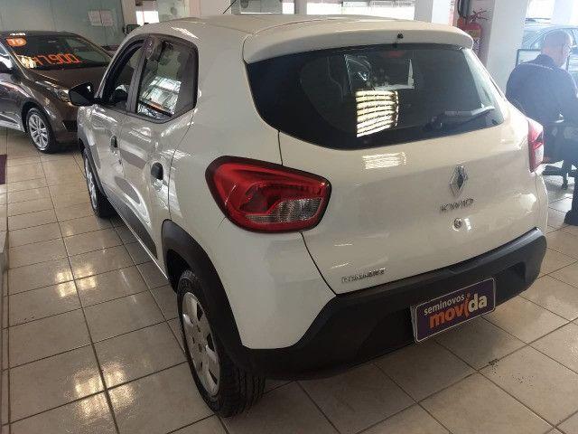 Renault Kwid Zen 1.0 2020 (100% do carro no cartão 6x sem juros) - Foto 5