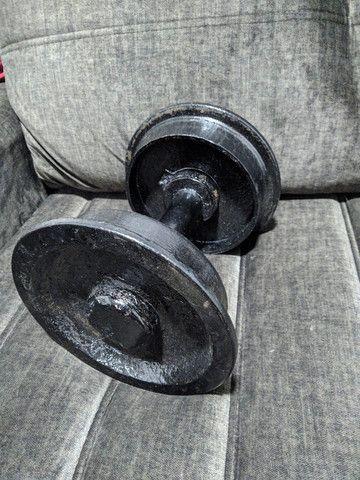 Par de halteres 10 kg cada - Foto 2