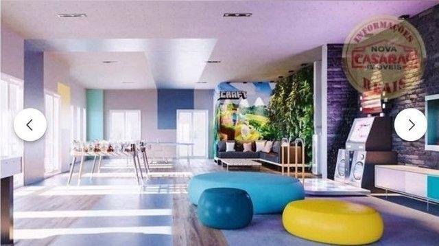Apartamento com 2 dormitórios à venda, 70 m² por R$ 350.000 - Mirim - Praia Grande/SP - Foto 8
