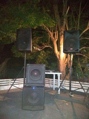 Aluguel de som profissional para festas