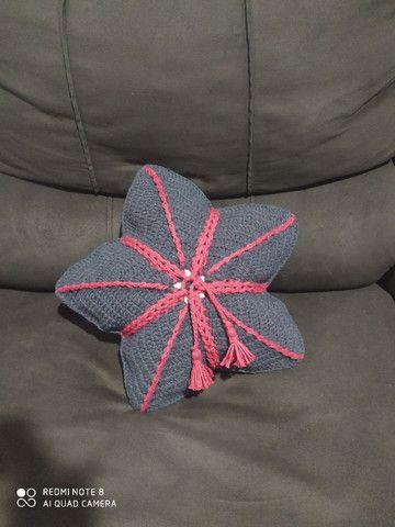 Almofadas de Crochê - Foto 3