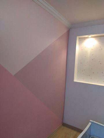 Pintura Decorativa - Tijolinho Rústico - Cimento Queimado - Foto 3