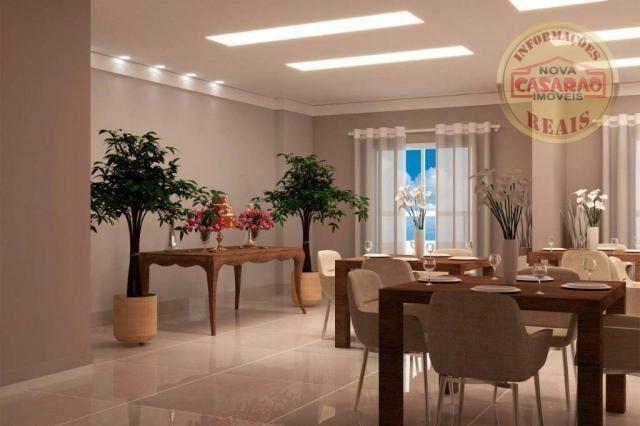 Apartamento com 1 dormitório à venda, 46 m² por R$ 232.000 - Vila Caiçara - Praia Grande - Foto 9