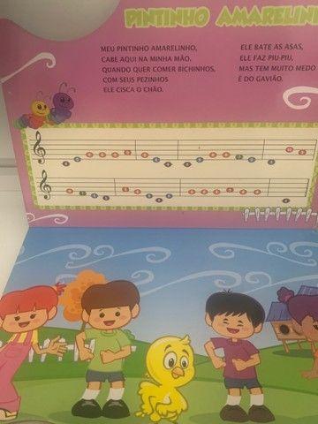 Livro Piano Galinha Pintadinha  - Foto 4