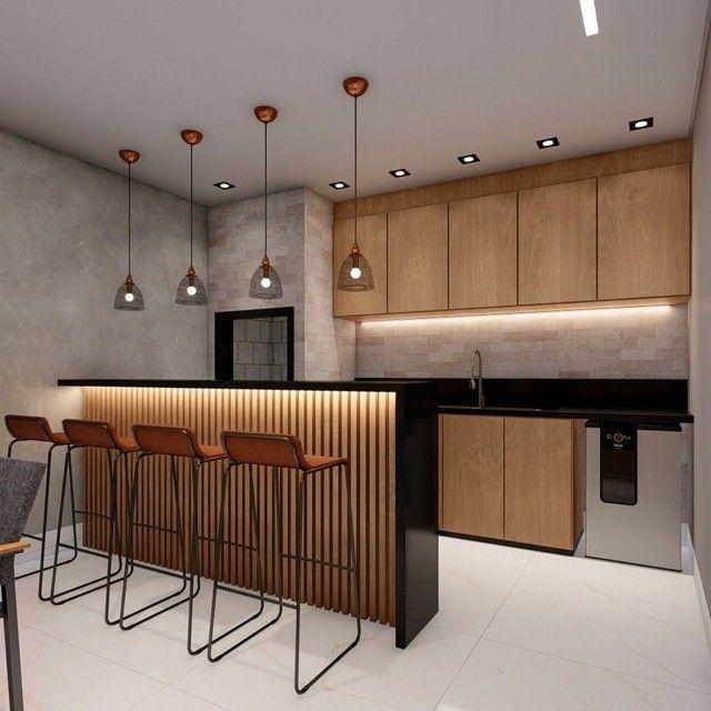 Lindo Sobrado com projeto arquitetônico em condomínio fechado Três Barras