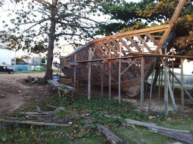 Vendo Barco em construção de 25m² em Itaipava - ES - Foto 2