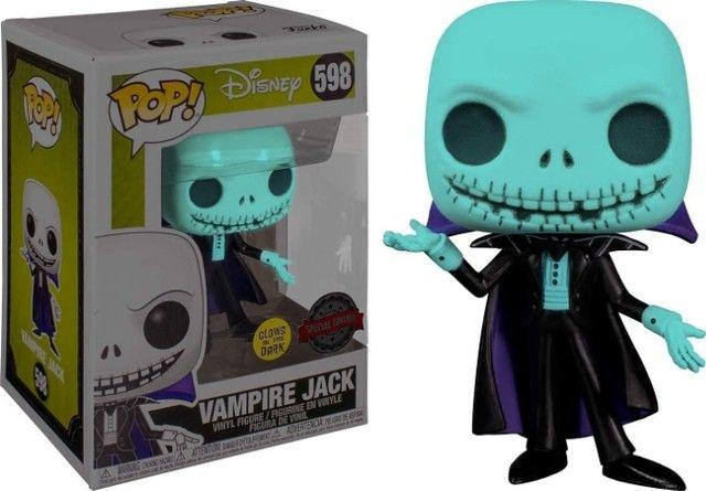 Funko Pop Disney - Vampire Jack Metallic Version (Special Edition) #598