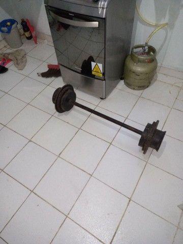 Peso/Musculação/Caseiro - Foto 3