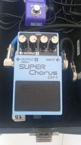 Pedal Super Chorus CH-1 BOSS - Foto 2
