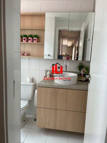 Mundi Resort, 96m², Mobiliado 100%, 14º andar, 3 quartos/suíte, 3 vagas - Foto 5