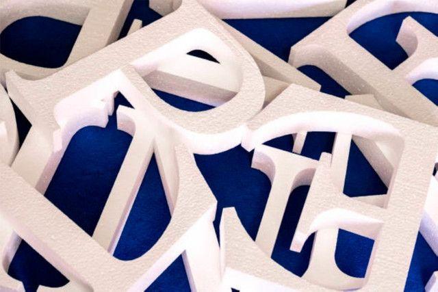 Letras Assembléia De Deus Em Isopor Letra Caixa 3d 20cm Alt - Foto 4