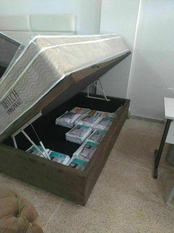 Base box baú,box baú cama box bau - Foto 5