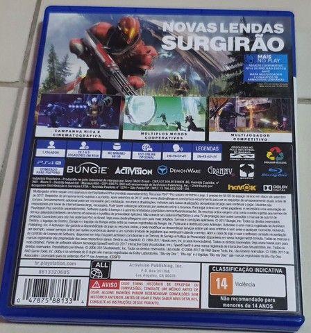 Destiny 2 - Mídia física PS4 usada. - Foto 2