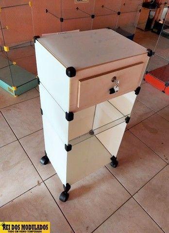 Balcão de vidro caixa