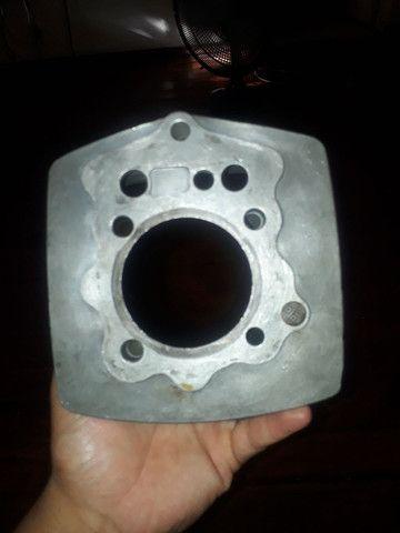 cilindro da shineray 200cc cg vareta pra curço 62.2 - Foto 2