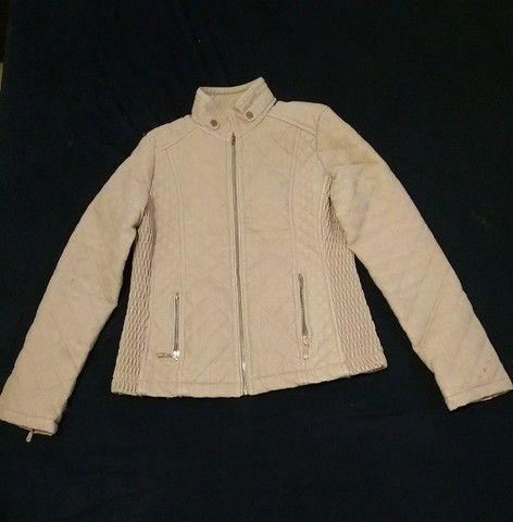 Jaqueta feminina via fino camurça tam. M - Foto 5