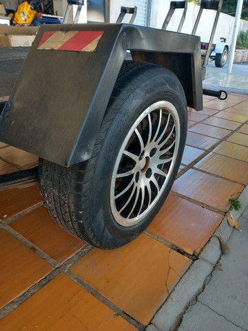 Carretinha Angola 5 motos  - Foto 2