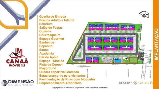 Lindos Aptos no Con. Reserva São Luís - Turu - Aptos c/ 2 qtos - Fino Acabamento - Foto 13