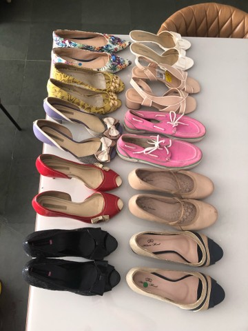 Sapatos femininos 39 - Foto 4