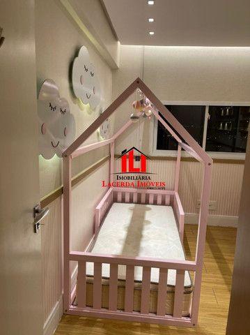 Mundi Resort, 96m², Mobiliado 100%, 14º andar, 3 quartos/suíte, 3 vagas - Foto 4