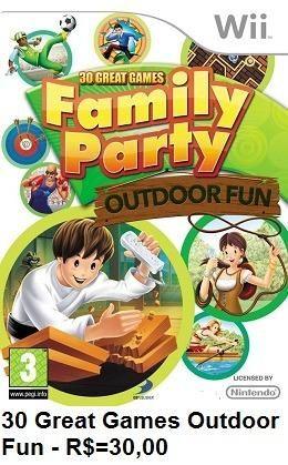 30 Great Games Outdoor Fun de Wii