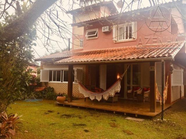 Casa à venda com 3 dormitórios em Praia da barra, Garopaba cod:499