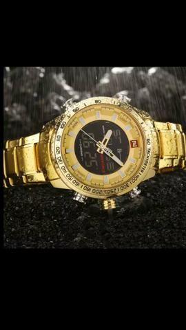 Relógios NaviForce originais a prova d'água