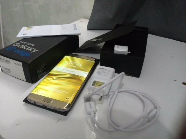 Galaxy s7 edge vendo ou troco preferência celular da sony