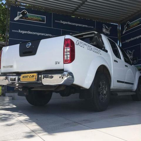 NISSAN FRONTIER 2013/2014 2.5 SV ATTACK 4X4 CD TURBO ELETRONIC DIESEL 4P MANUAL - Foto 4