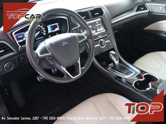 Ford Fusion Titanium Hybrid 2.0 15/16 é na Top Car! - Foto 7