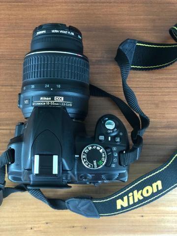 Câmera Nikon D3100 e Lente Nikon Nikkor 18-55mm (KIT) - Foto 2