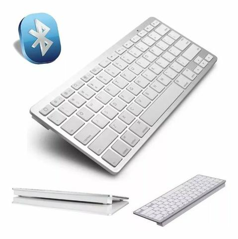 Mini Teclado Sem Fio Bluetooth Wireless Pc Tablet - Foto 5